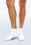 Adult Seamless Sensitivity Socks - Mini Crew - WHITE - (Smartknit)